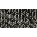 Crystal Fractal Декор чёрный 30х60