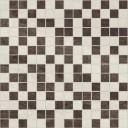 Crystal Мозаика коричневый+бежевый 30х30