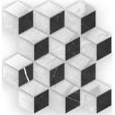 Royal Stone Вставка мозаика многоцветный (A-RS2L451\G) 28x27