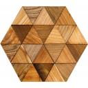 Мозаика комбинированная с 3D эффектом 28.4х32.5