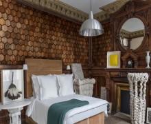 Деревянная плитка из массива Карагача ручной работы Российского производства
