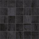 Metallica Декор мозаичный чёрный MM34034 25х25