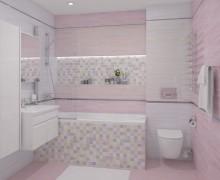 Плитка Spring розовый Laparet (Россия)