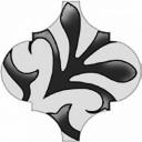 Арабески Декор глянцевый орнамент OS/A33/65000 6,5х6,5