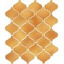 Арабески Майолика желтый 65009 26х30