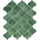 Арабески Майолика зеленый 65008 26х30