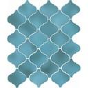 Арабески Майолика голубой 65005 26х30