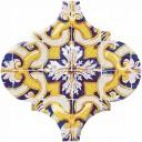 Арабески Майолика Декор орнамент OP/A159/65000 6,5х6,5