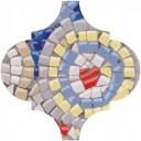 Арабески Майолика Декор Гауди OP/A170/65000 6,5х6,5