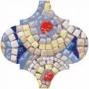 Арабески Майолика Гауди Декор OP/A171/65000 6,5х6,5
