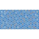 Декор Анкона D1 синяя 30х60