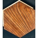 Гексагональная напольная плитка венге 14,6х17