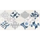 Декор 1 Мореска синий (1641-8629) 20х40