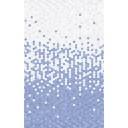 Плитка настенная Лейла голубой низ 02 25х40