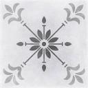 Motley Керамогранит пэчворк, цветы, серый (C-MO4A095D) 29,8х29,8