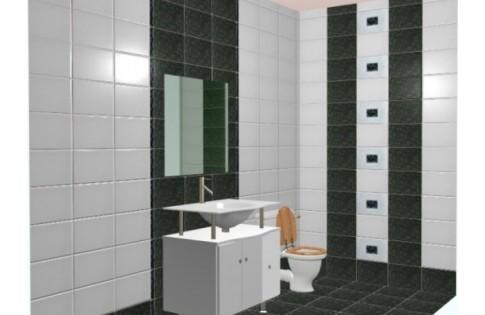 Настенная плитка в ванны фирма domino