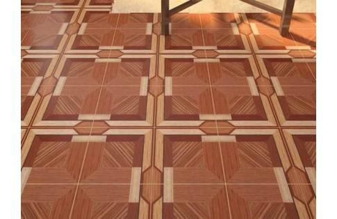 Напольная плитка Рустик коричневый Харьковский плиточный завод Golden Tile (Украина)