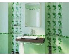 Плитка Маргарита зелёная Golden Tile (Украина)