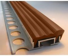 Закладной алюминиевый профиль ALPB 2.4м